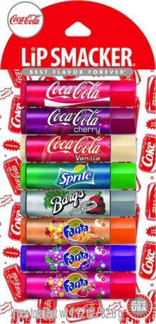 Lip Smacker Coca-Cola Party Pack Lip Glosses, 8 Count