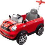 Prinsel Vehículo de Empuje Mini Cooper, color Rojo