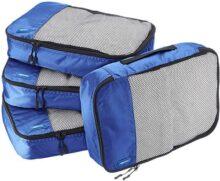 AmazonBasics Set de 4 organizadores medianos para maleta