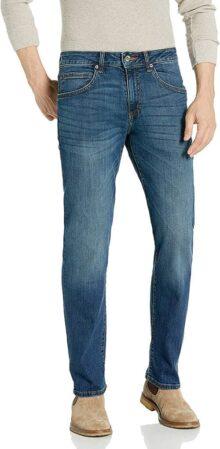 Lee Jeans de Corte Recto, Serie Moderna, para Hombre