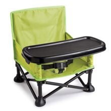 Summer Infant Pop N' Sit Booster, Original, Verde