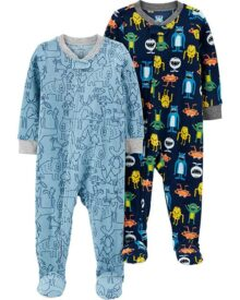 Carter's - Pijama de Forro Polar para bebé (2 Unidades)