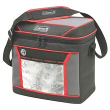 Coleman 24 Hour 16 Can Cooler, Red