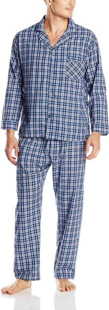 Hanes - Conjunto de Pijama Tela Liso para Hombre
