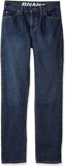 Dickies Jeans de 5 Bolsillos para niños con Ajuste cónico