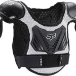 Fox W1 cotarro Titán ProFrame de peto protector de pecho niños combinado/gris