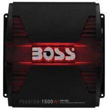 BOSS Audio PM1500 Phantom 1500W Monoblock, Class A/B Amplifier