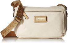 Calvin Klein Belfast bolsa cruzada pequeña de nailon con llave