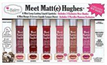 Meet Matte Hughes 6 Piece Mini Liquid Lipstick Set, Long Lasting, Lightweight, Matte Finish