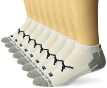 Puma - Calcetines de corte bajo para hombre (8 unidades)