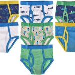 Trimfit - Calzoncillos de Colores para niños, Extremadamente Suaves, 100% algodón, 7 Unidades