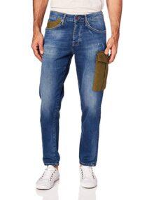Oggi POWEBAJASTON Jeans para Hombre