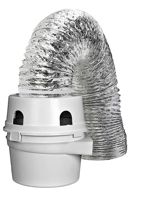 Dundas Jafine TDIDVKZW ProFlex Kit de respirador para secadora con ducto ProFlex de 10 x 1.5 m