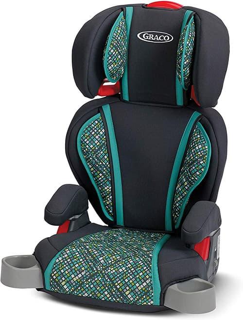 Graco Highback Turbo Booster asiento de coche, Asiento para carro, Mosaico, Una talla