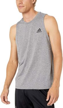 Adidas Freelift Sport Heather Playera sin Mangas para Hombre