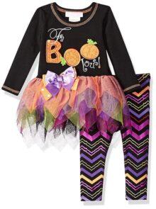 Bonnie - Conjunto de Vestido y Leggings para bebé y niña