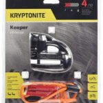 Kryptonite 720018000877 Keeper 5-S2 - Cerradura de Disco cromada, Negro, Una Talla