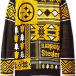 NFL Parches Ugly sweater- Pick Equipo., Pittsburgh Steelers, Mediano