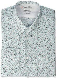 Calvin Klein Xtreme - Camisa de Vestir para Hombre, térmica, elástica, Ajustada